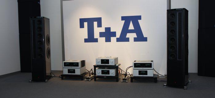 Výstava High-End Mníchov 2014 - Zostava T+A s elektronikou radu HV Series