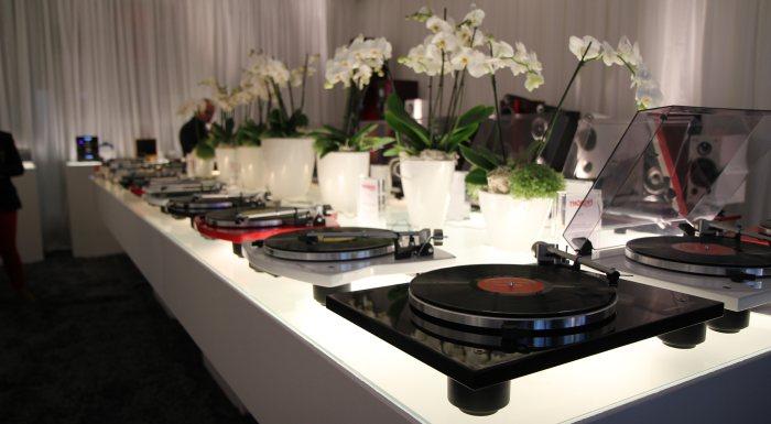 Výstava High-End Mníchov 2014 - Showroom spoločnosti Thorens