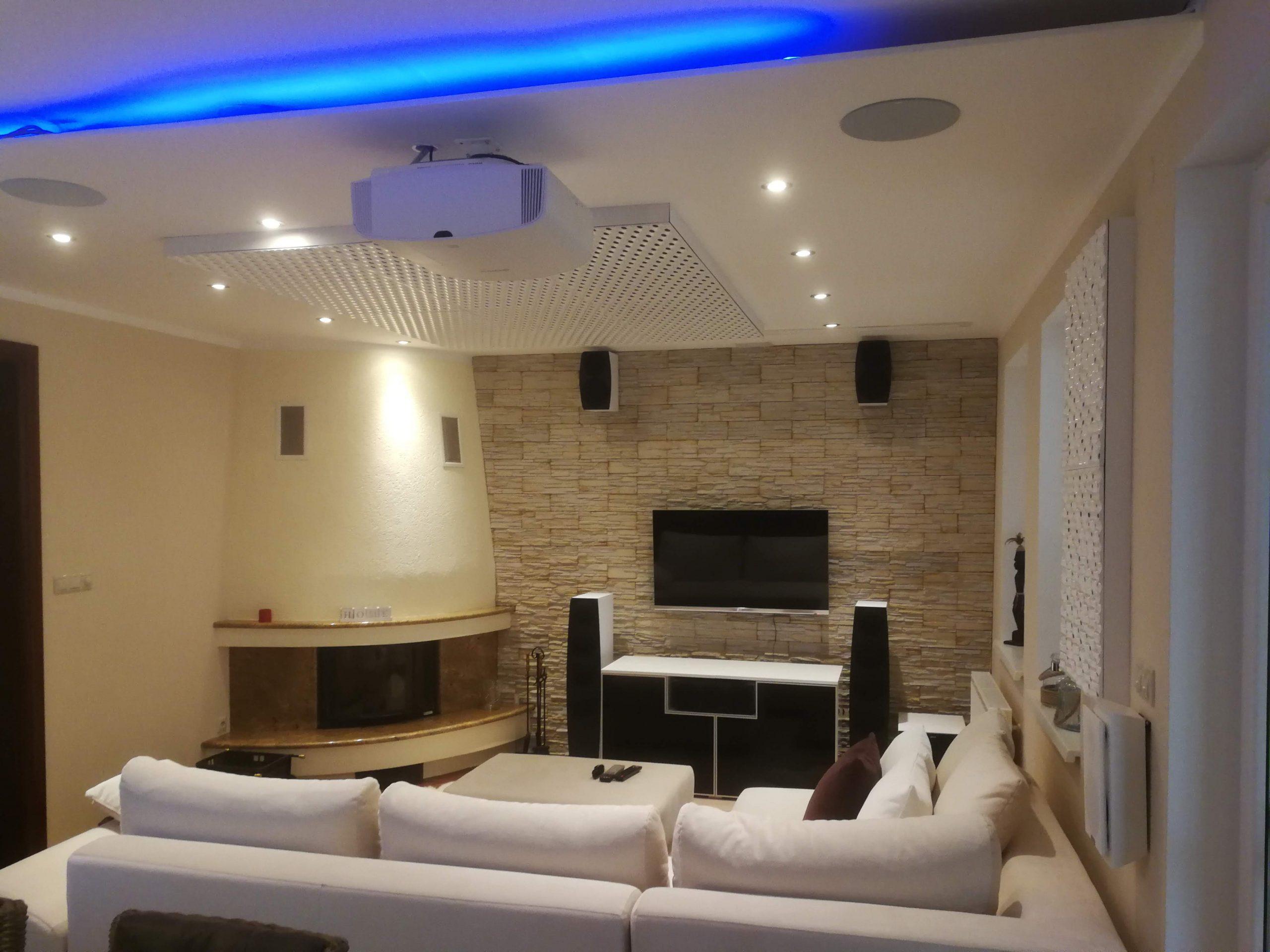 Úprava akustiky v obývačke