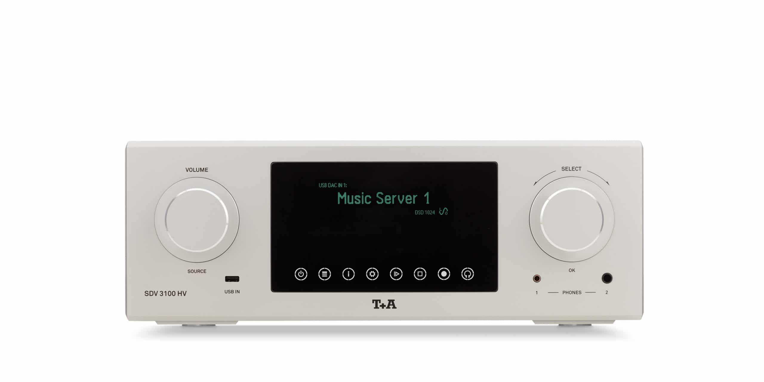 Unboxing Streaming DAC s predzosilňovačom T+A SDV 3100 HV